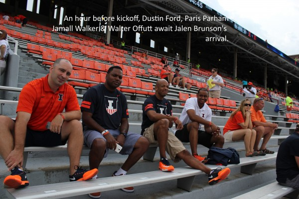 Dustin Ford, Paris Parham, Jamall Walker, Walter Offutt