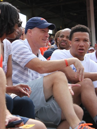 John Groce and Jalen Brunson