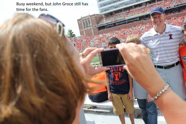 John Groce still has time for the fans