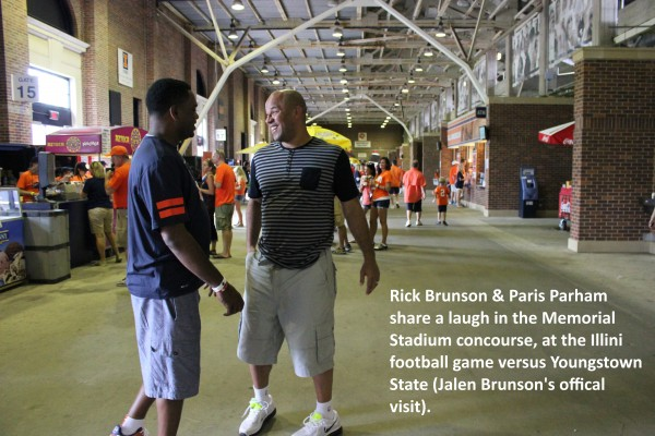 Paris Parham & Rick Brunson
