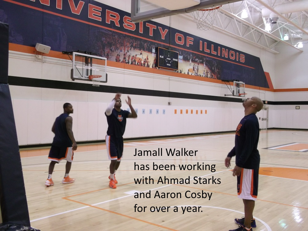 Jamall Walker with Starks and Cosby