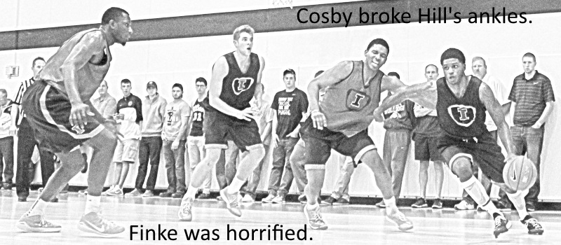 Cosby broke Hills ankles