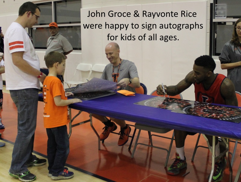 John Groce and Rayvonte Rice