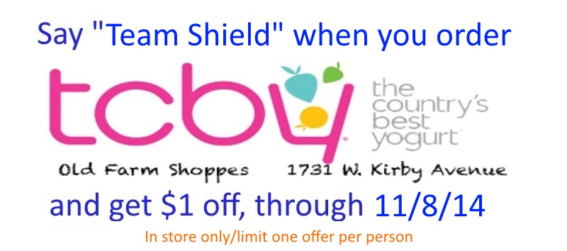 Team Shield coupon