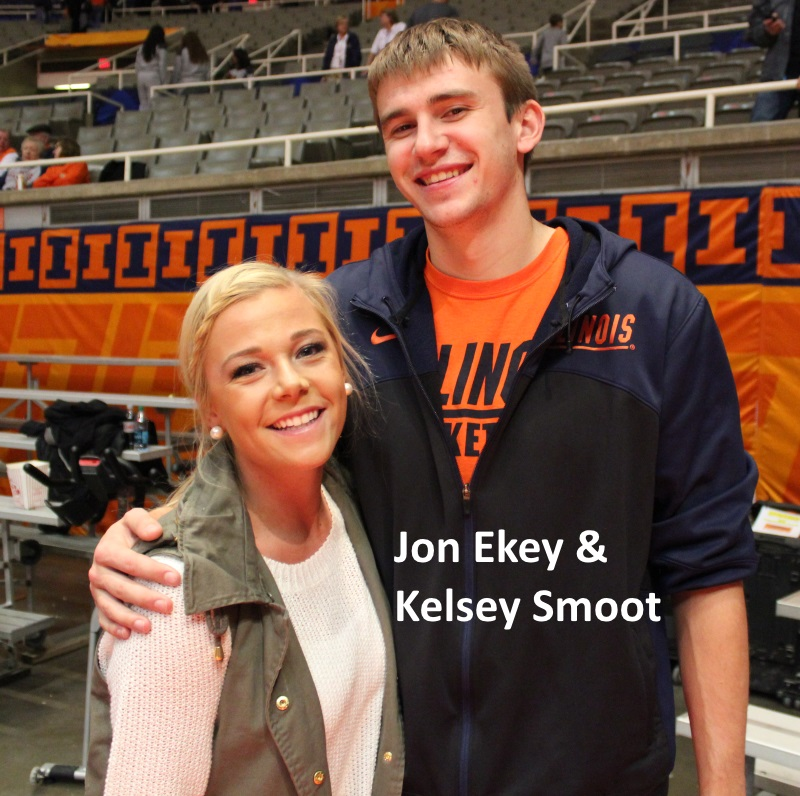 Jon Ekey and Kelsey Smoot
