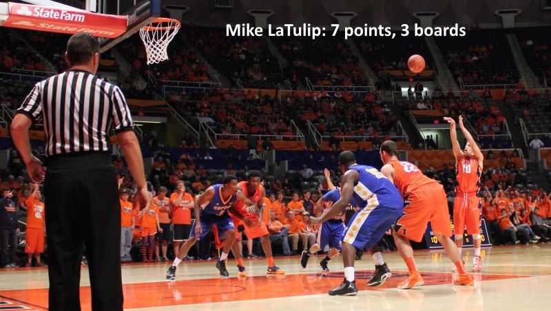 Mike LaTulip, 7 points, 3 boards