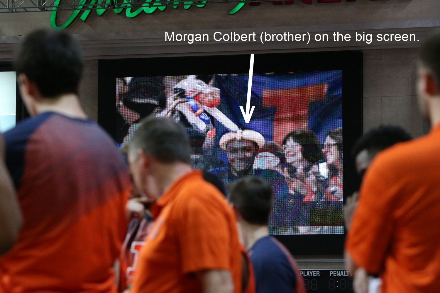 Morgan Colbert on big screen