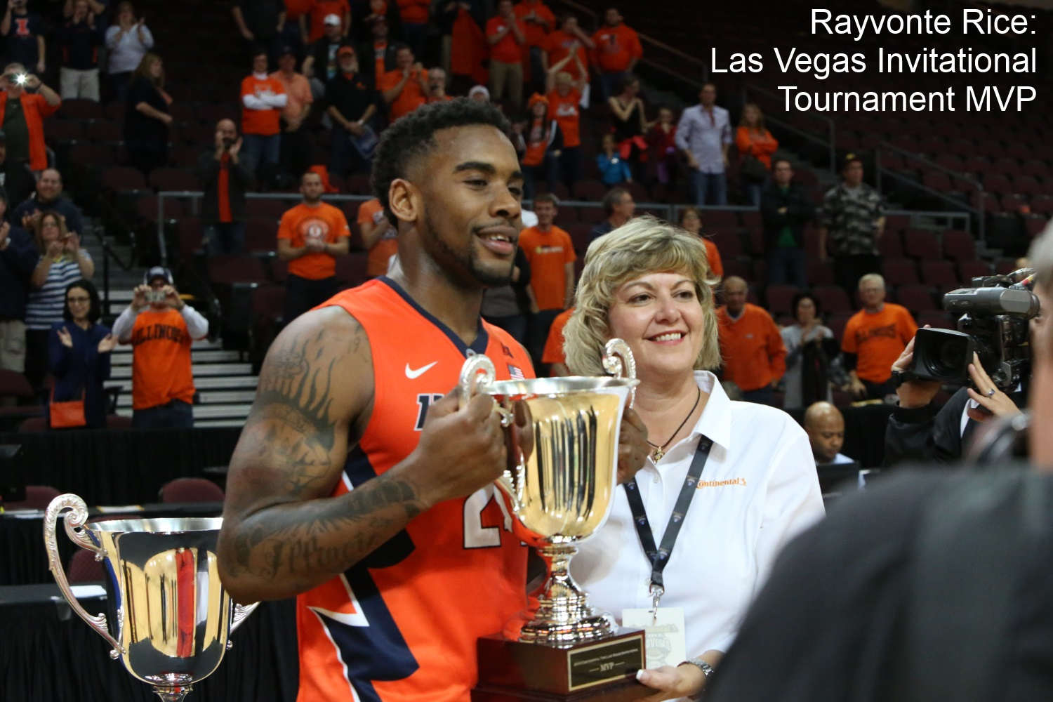 Rayvonte Rice tournament MVP
