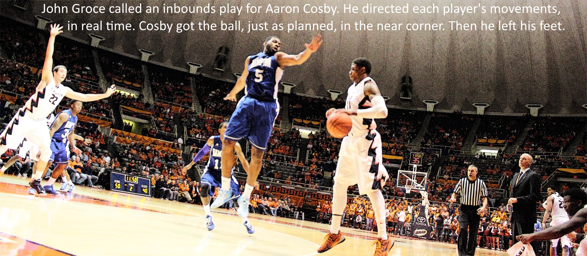 Aaron Cosby turnover