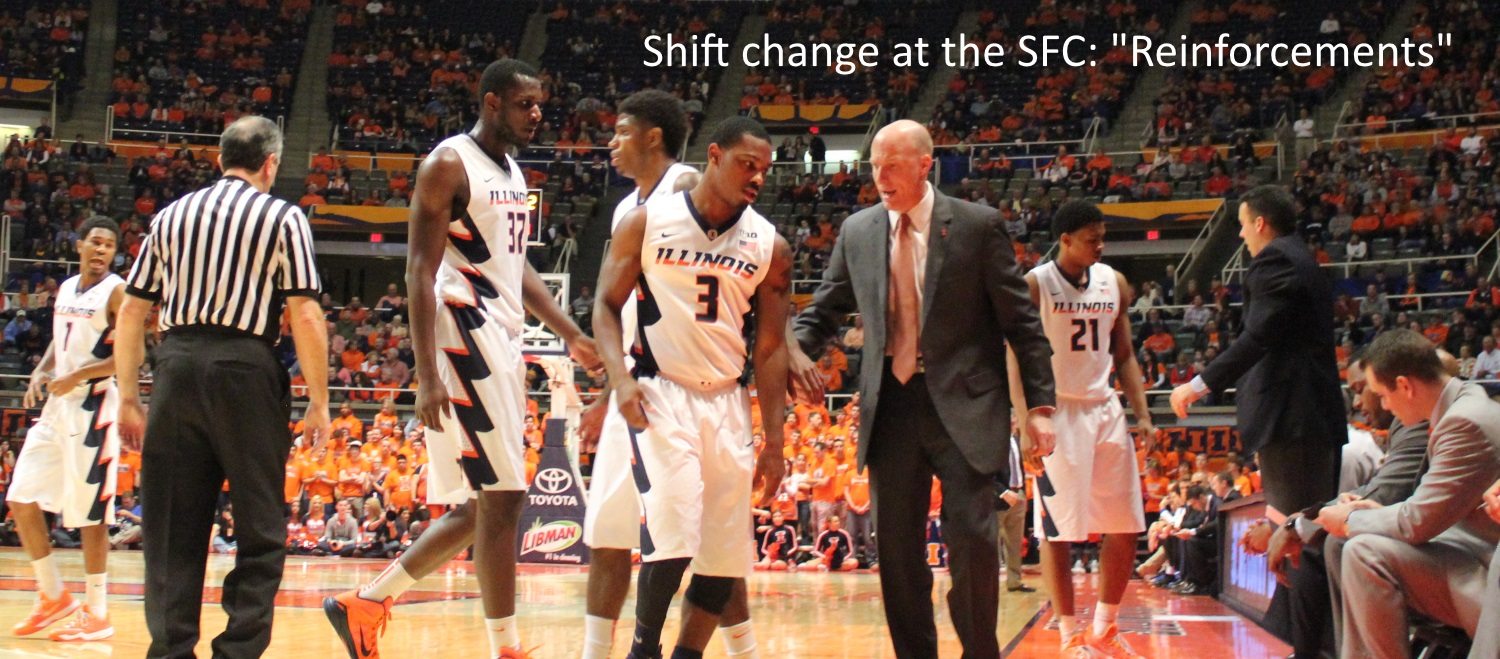 Illini shift change reinforcements