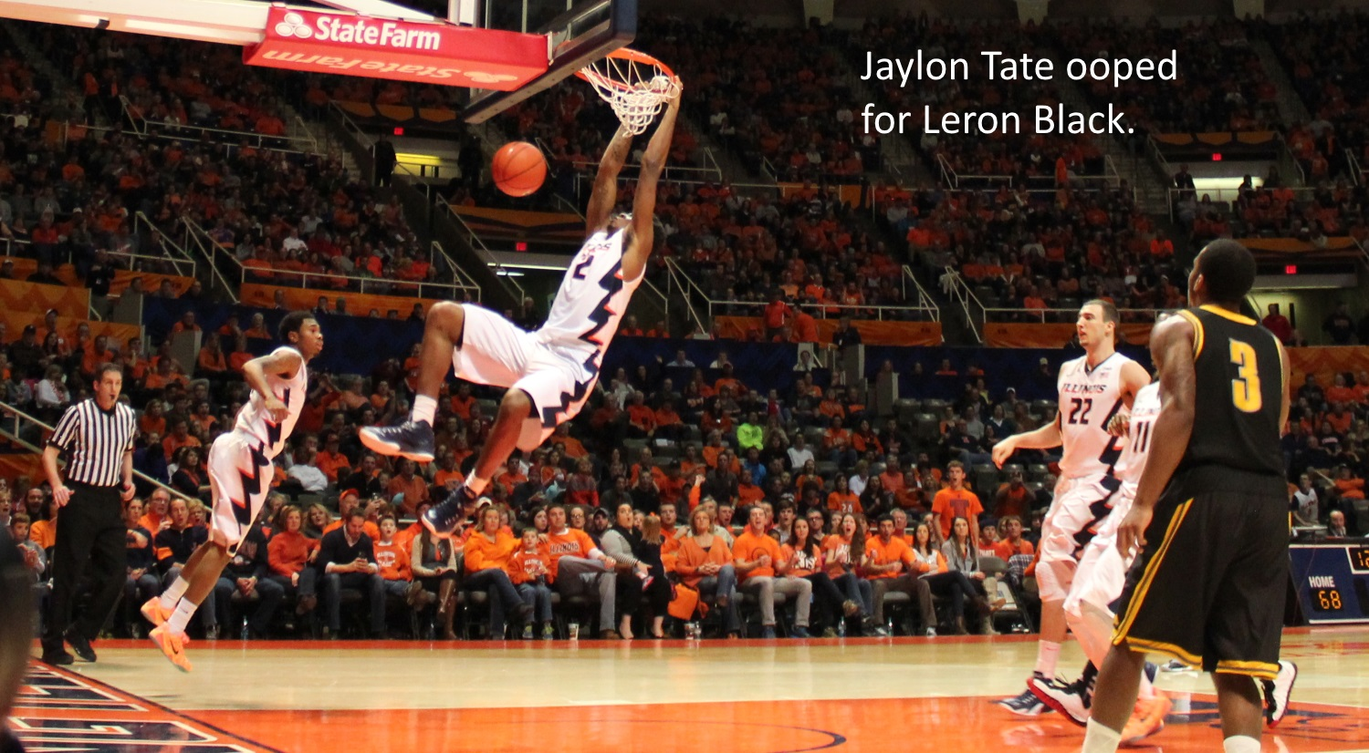 Jaylon TAte ooped Leron Black