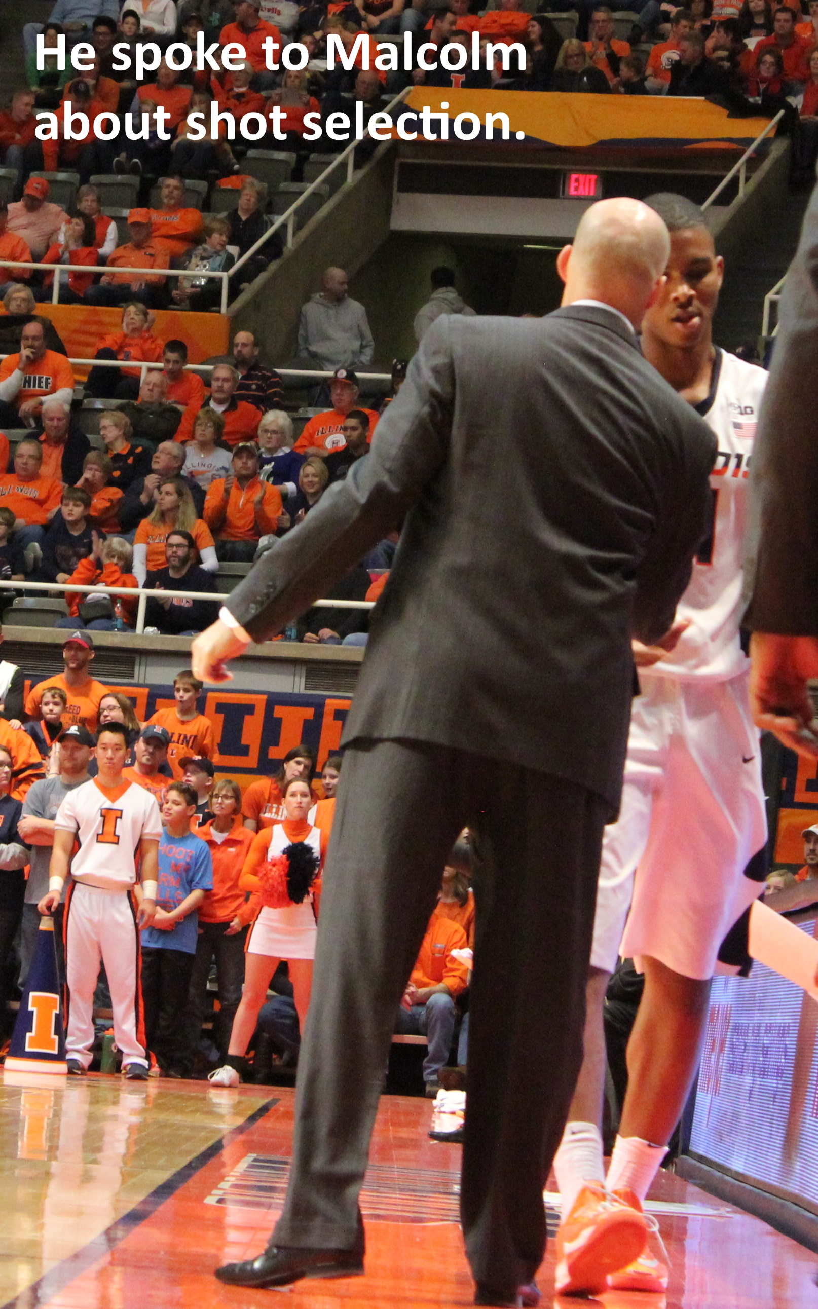 John Groce - Malcolm Hill - shot selection