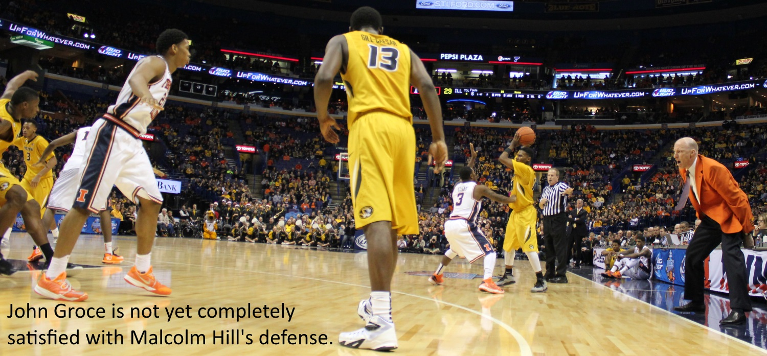 John Groce not yet completely satisfied Malcolm Hill defense