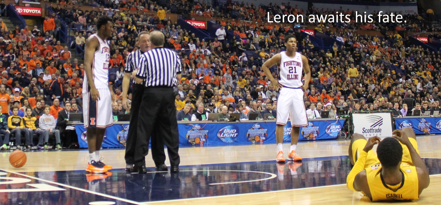 Leron Black awaits his fate