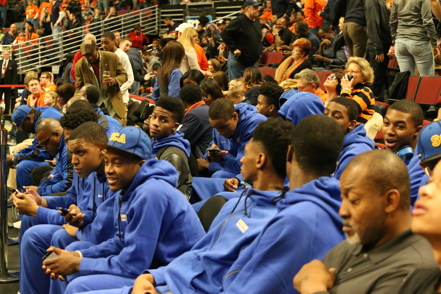 Simeon boys team at United Center