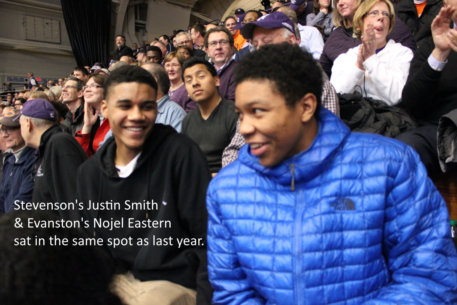 Justin Smith and Nojel Eastern