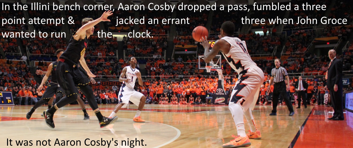 Not Aaron Cosby night