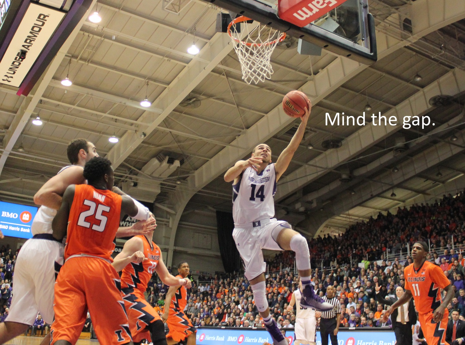 Tre Demps mind the gap