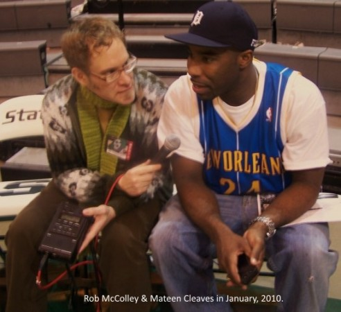 rob mccolley and mateen cleaves