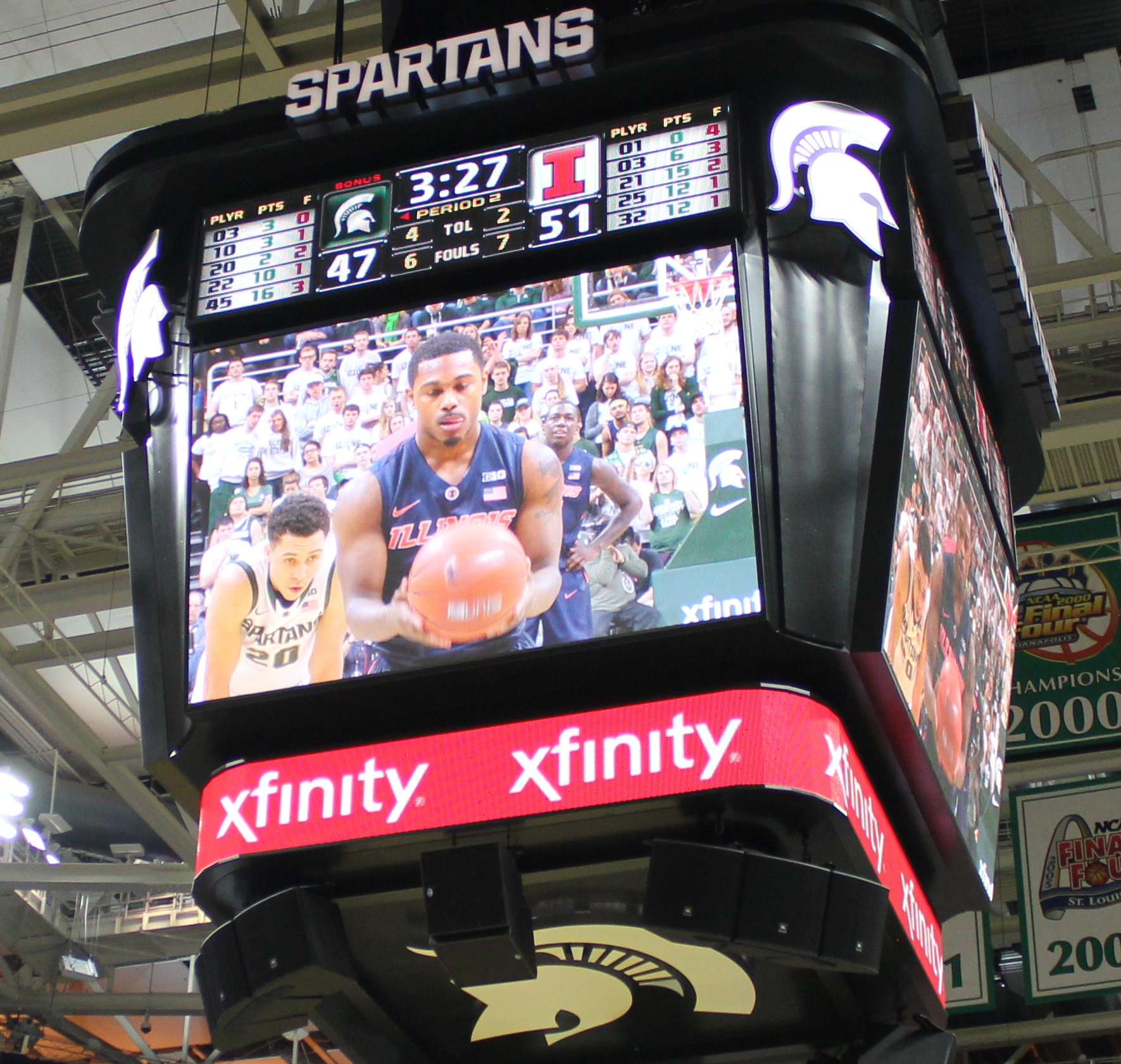 Ahmad Starks on the big screen