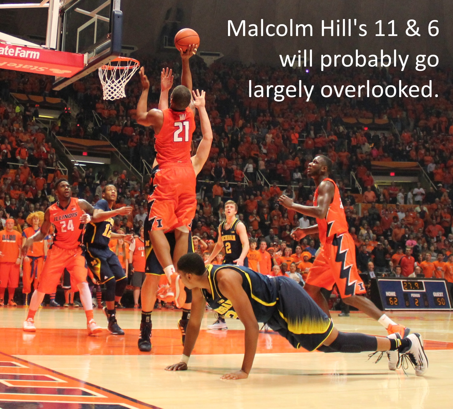 Malcolm Hill 11 and 6