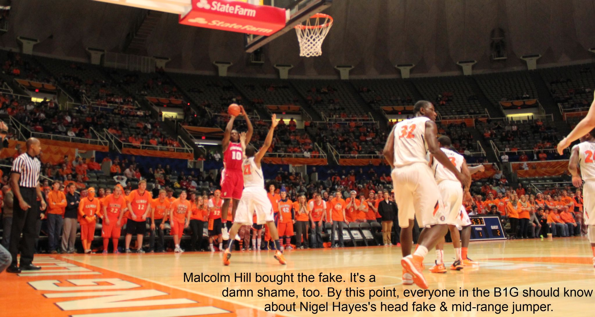 Malcolm Hill and Nigel Hayes
