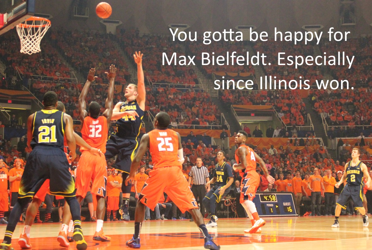 Max Bielfeldt at Illinois
