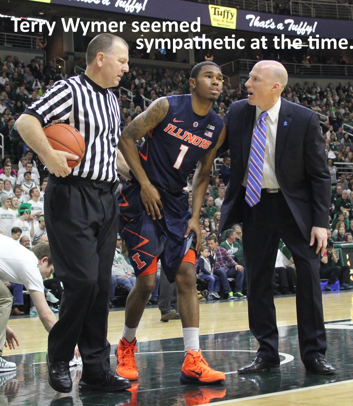 Terry Wymer seemed sympathetic