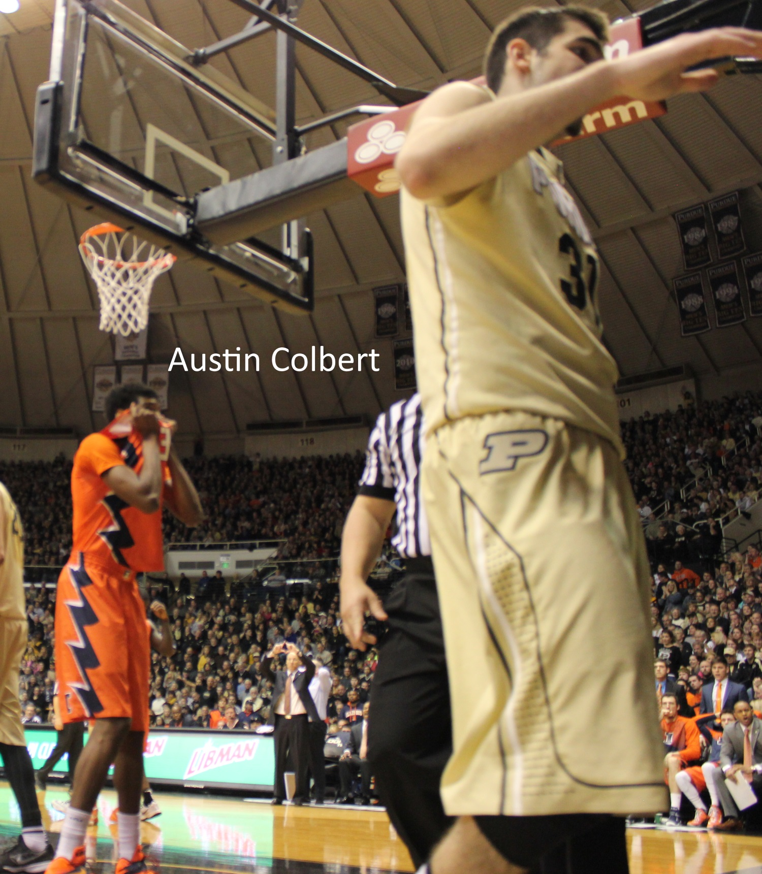 Austin Colbert could not believe the call