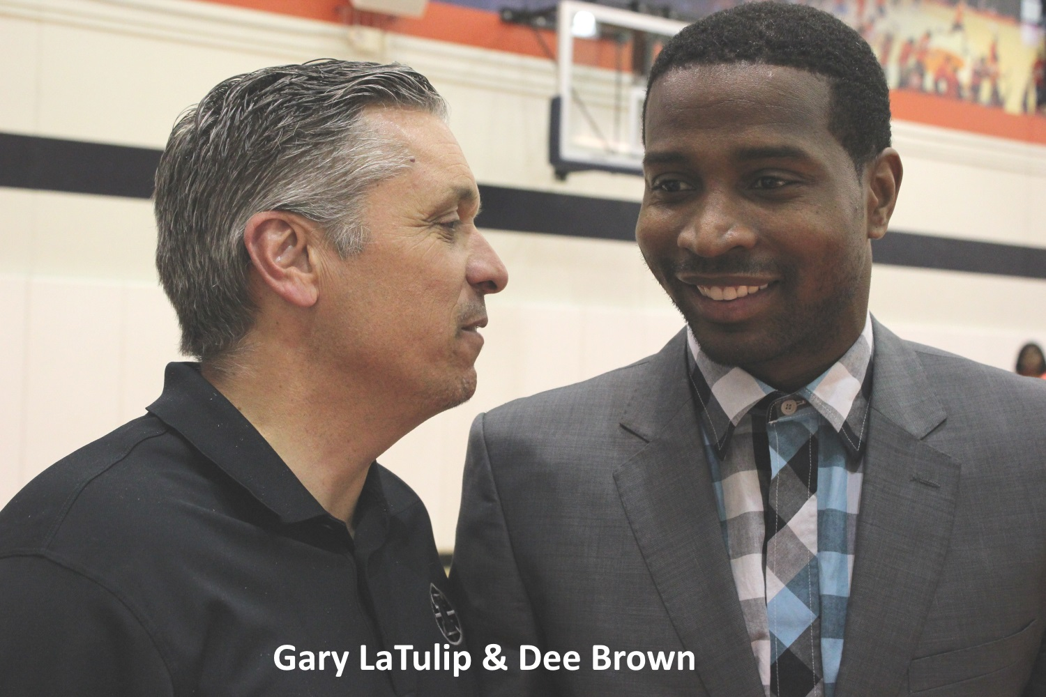 Gary LaTulip and Dee Brown