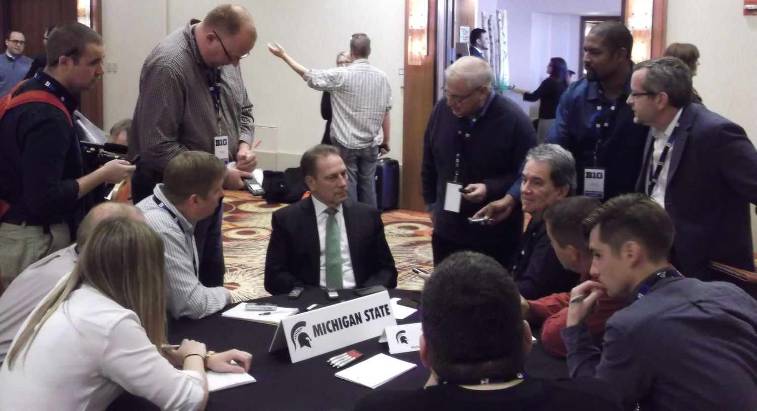 Tom Izzo B1G Media Day