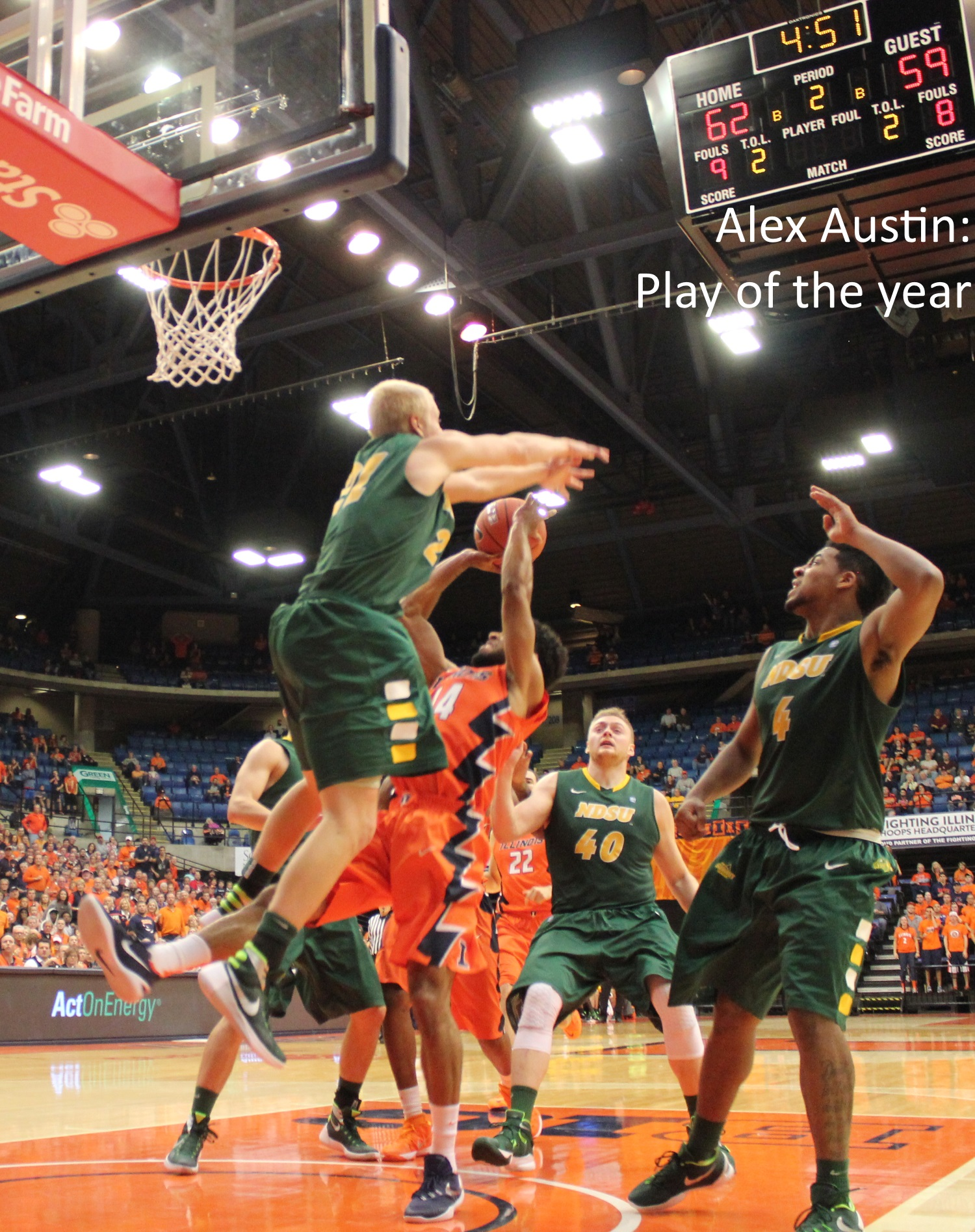 Alex Austin - play of the year