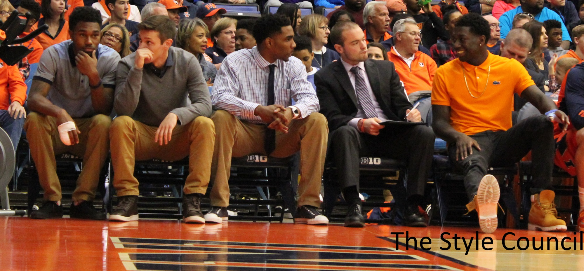 Illini bench - The Style Council