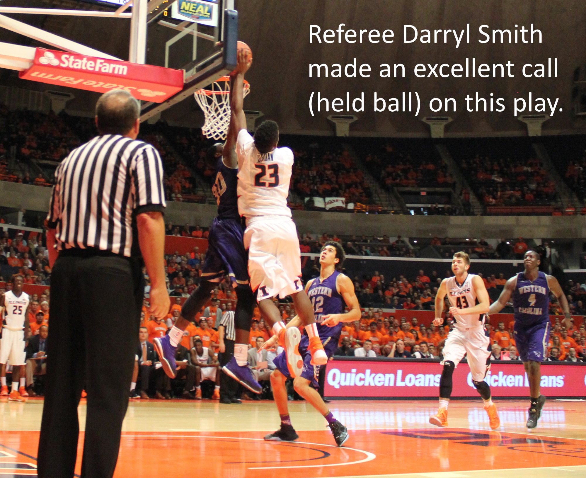 Darryl Smith excellent call