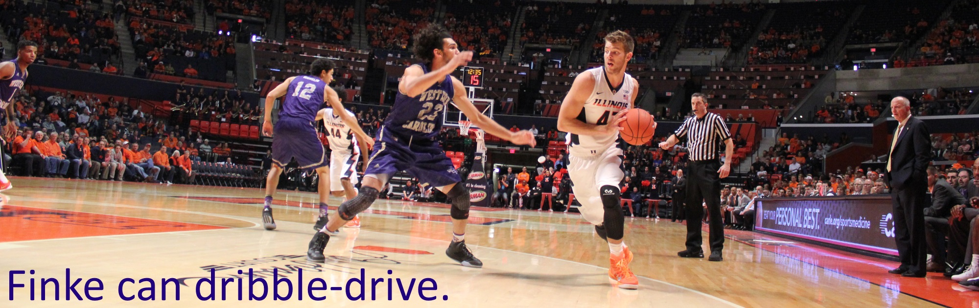 Finke can dribble-drive