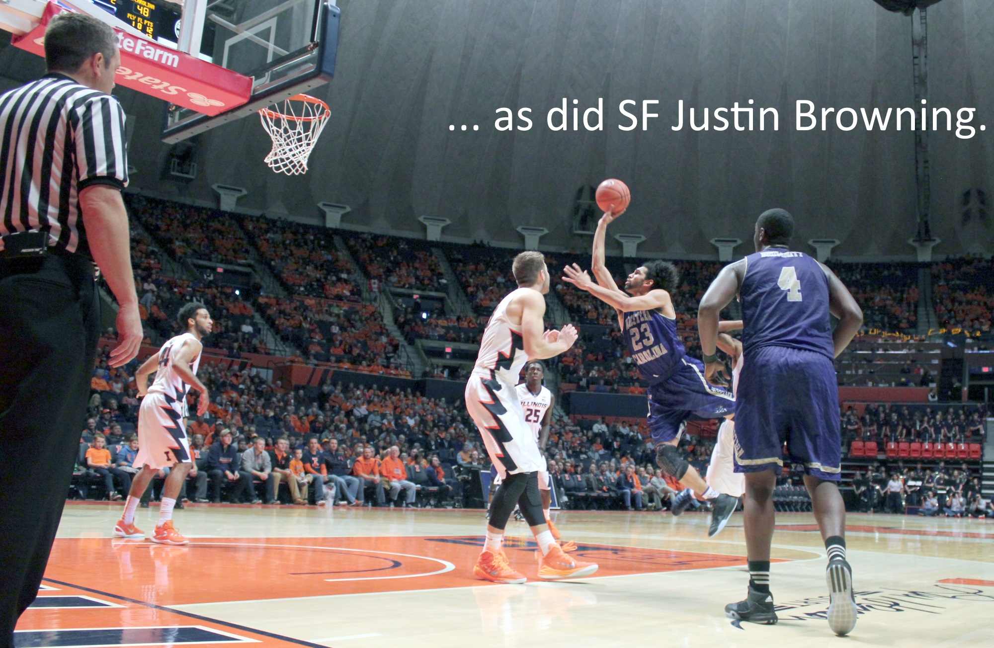 Justin Browning four turnovers