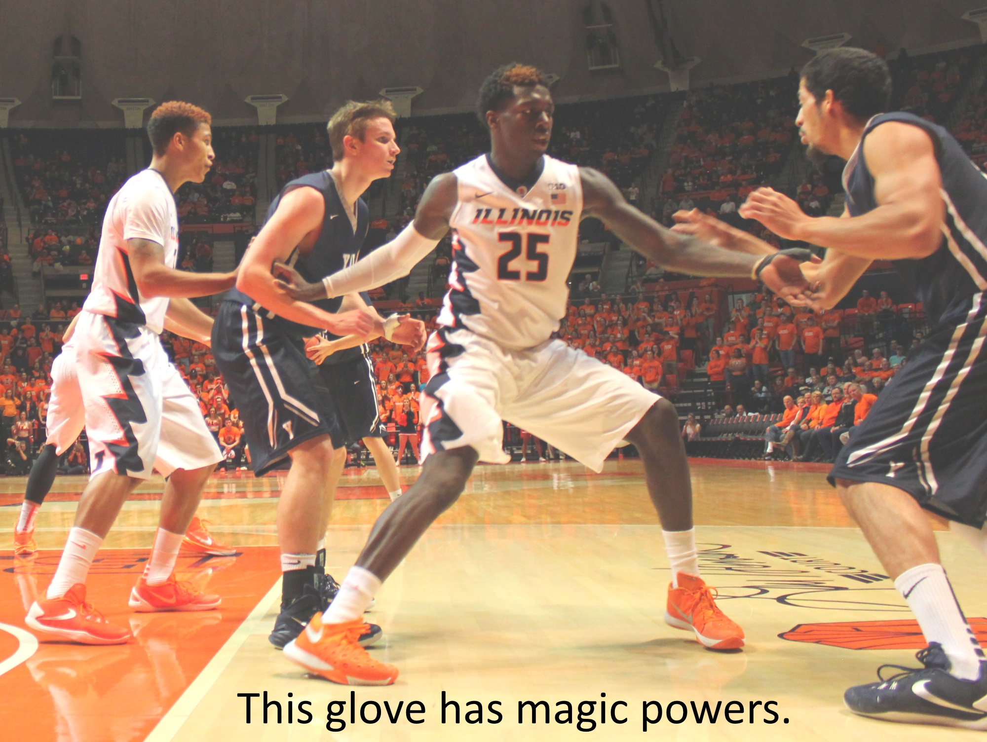 Kendrick Nunn - this glove has magic powers