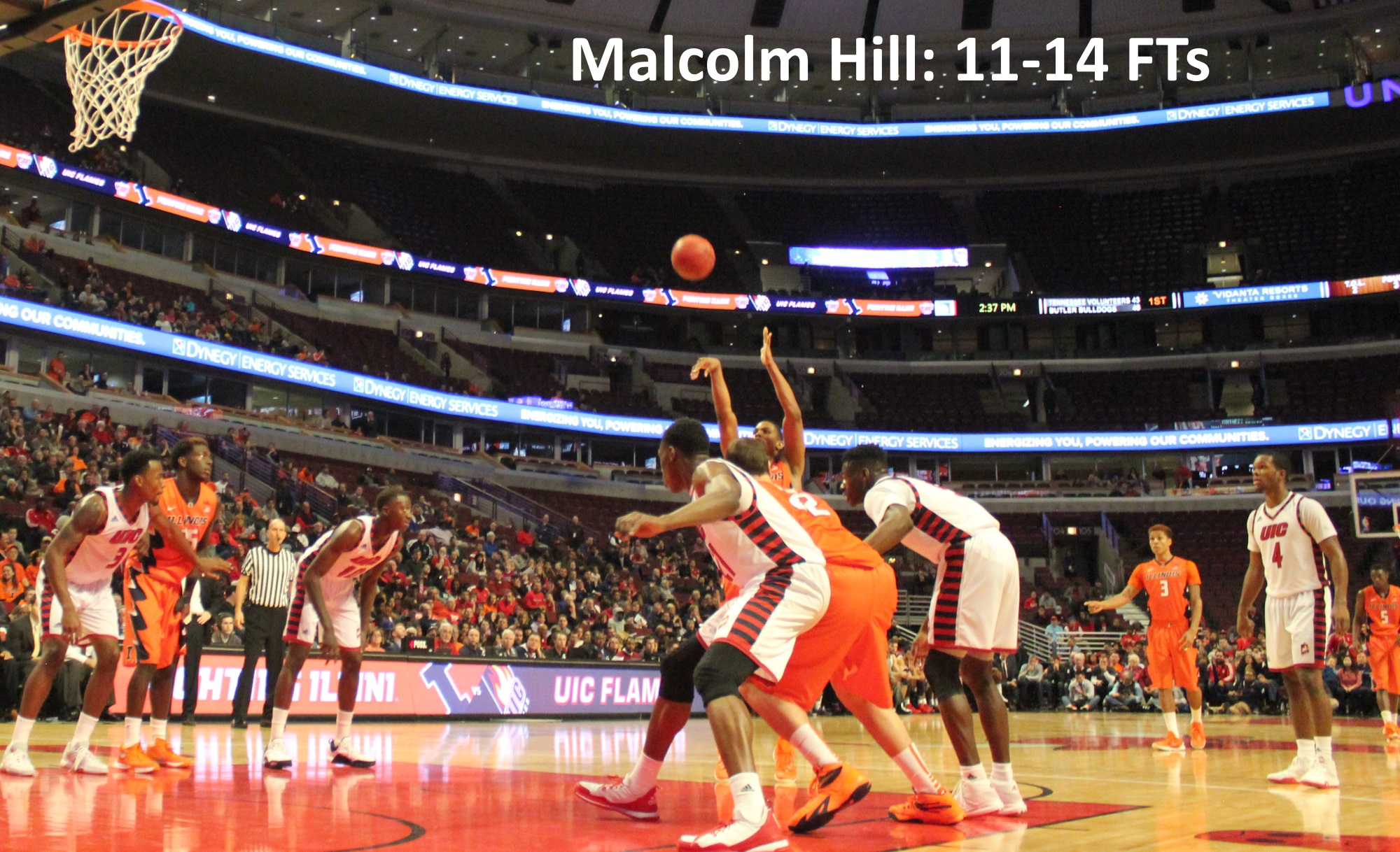 Malcolm Hill 11-14 FTs