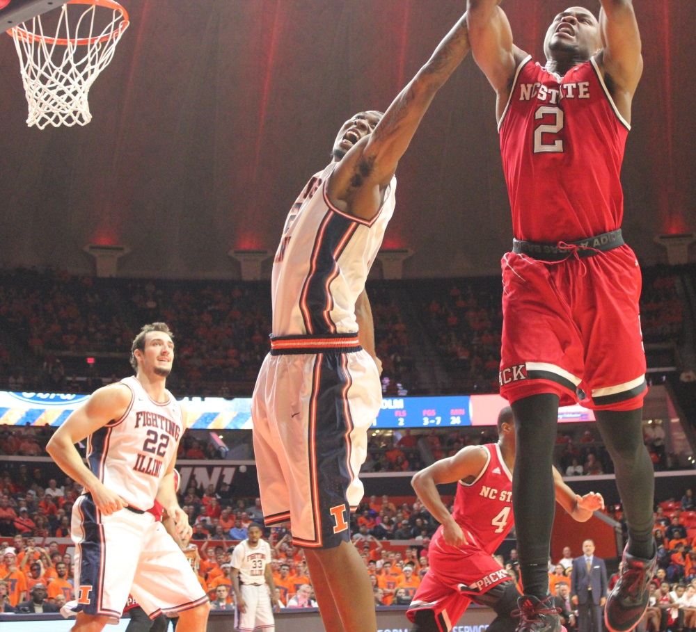 nc-states-torin-dorn-2-fights-illini-leron-black-for-a-rebound-tuesday-night-in-champaign